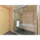 King Deluxe Walk-in Shower & Tub with Whirlpool Jets