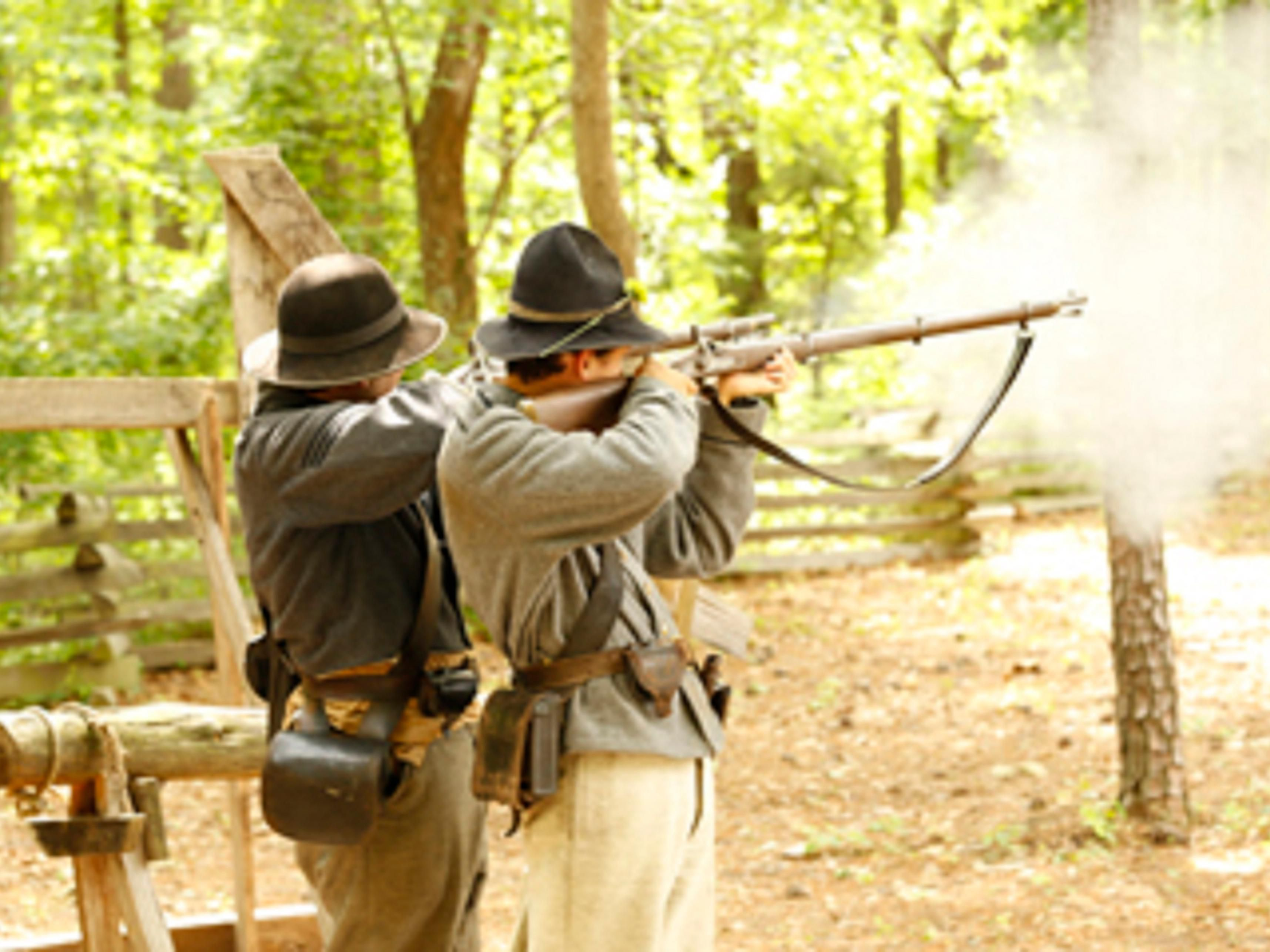 Enjoy Pamplin Park's Historical Rifle Demonstration