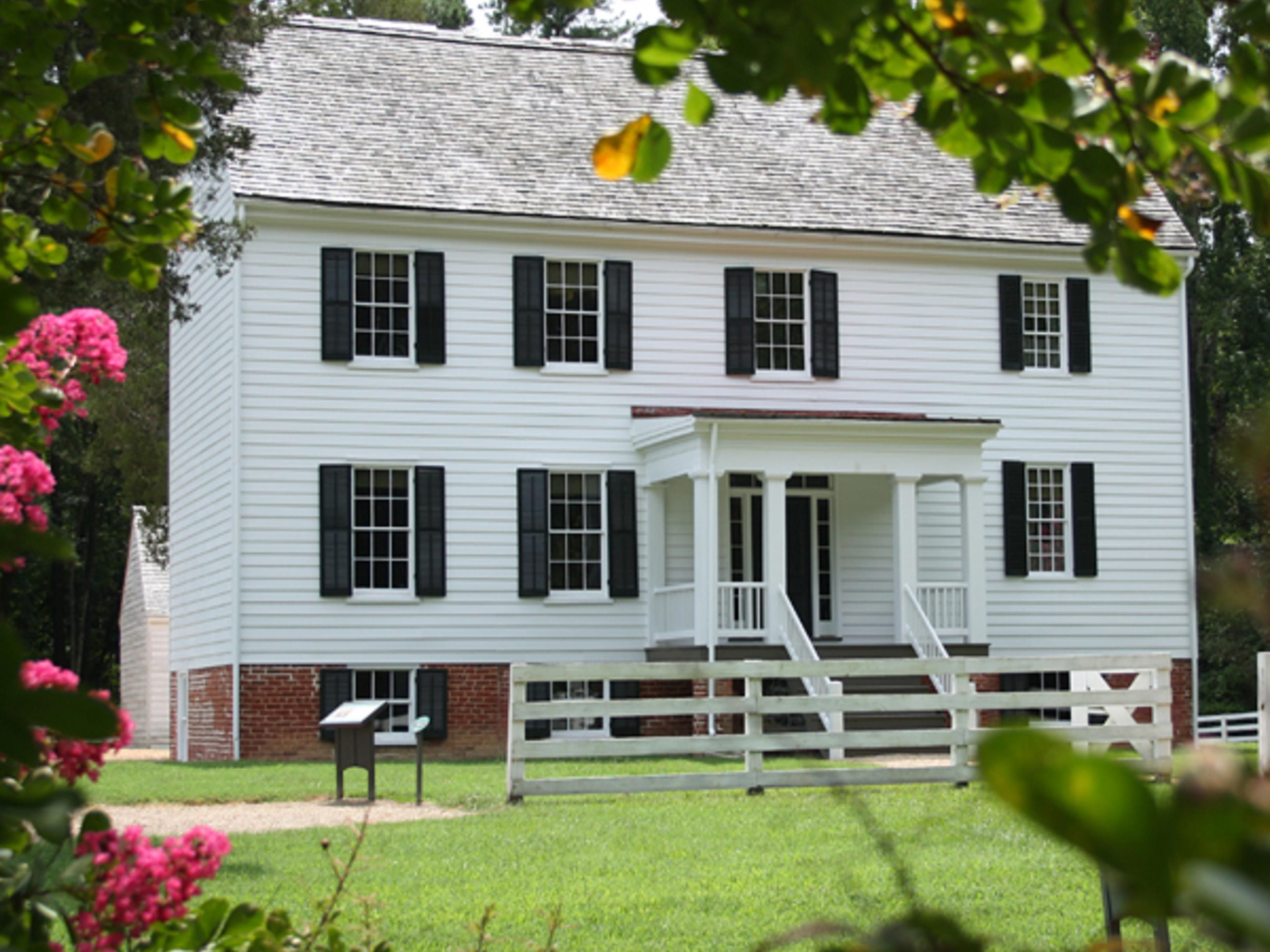 Tudor Hall Plantation at Pamplin Park.