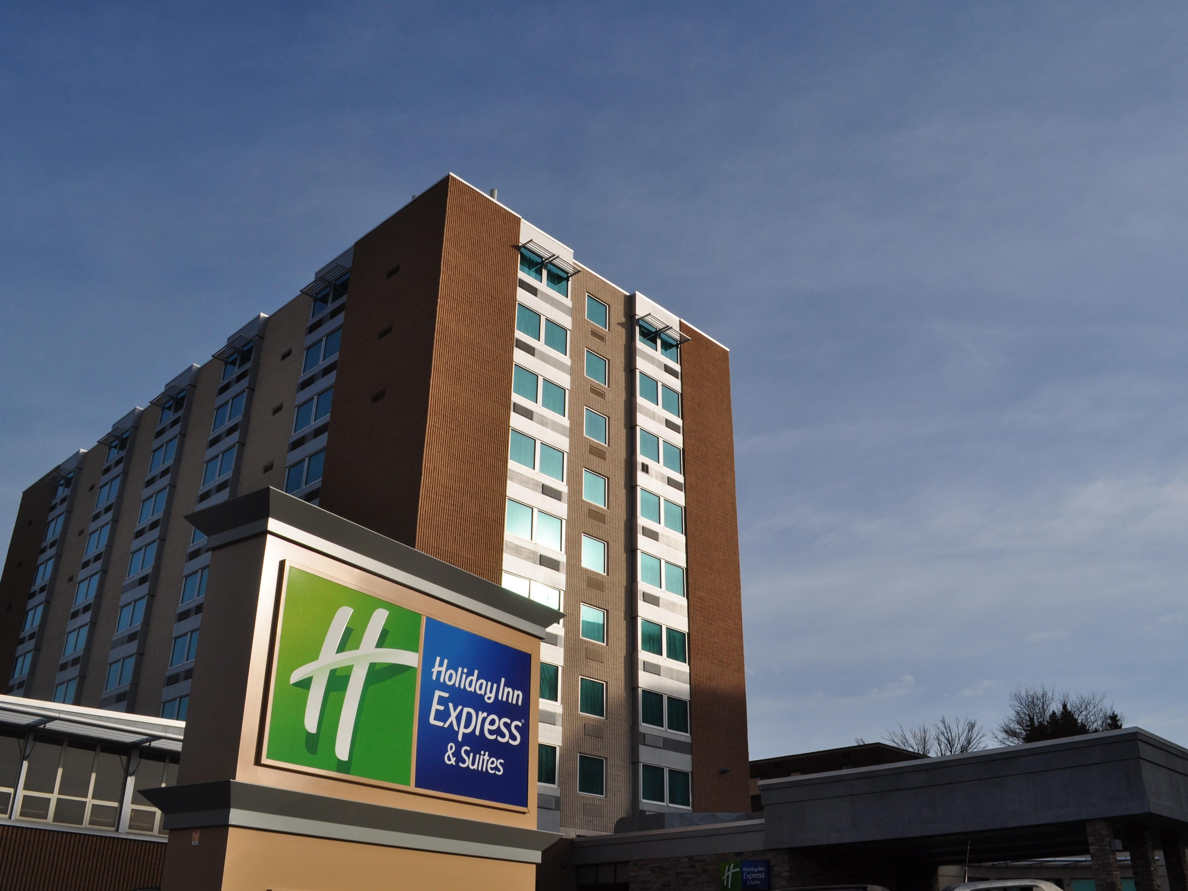 Welcome to the Holiday Inn Express Pittsburgh West