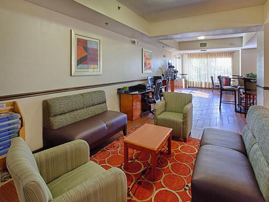 Relax in the Holiday Inn Express & Suites Port Charlotte Lobby