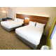 One Room Suite With Two Queen Beds with Sleeper Sofa