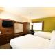 One Room Suite Queen Beds with Sleeper Sofa