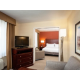 L-Shaped King Parlor Suite Living Area