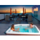 Panoramic terrace with Jacuzzi