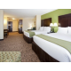 Two Queen Suite Accommodating Large Family