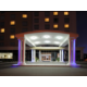 A grand entrance to the Holiday Inn Express Toronto Markham