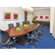 The Executive Board Room is the right size for groups up to 12