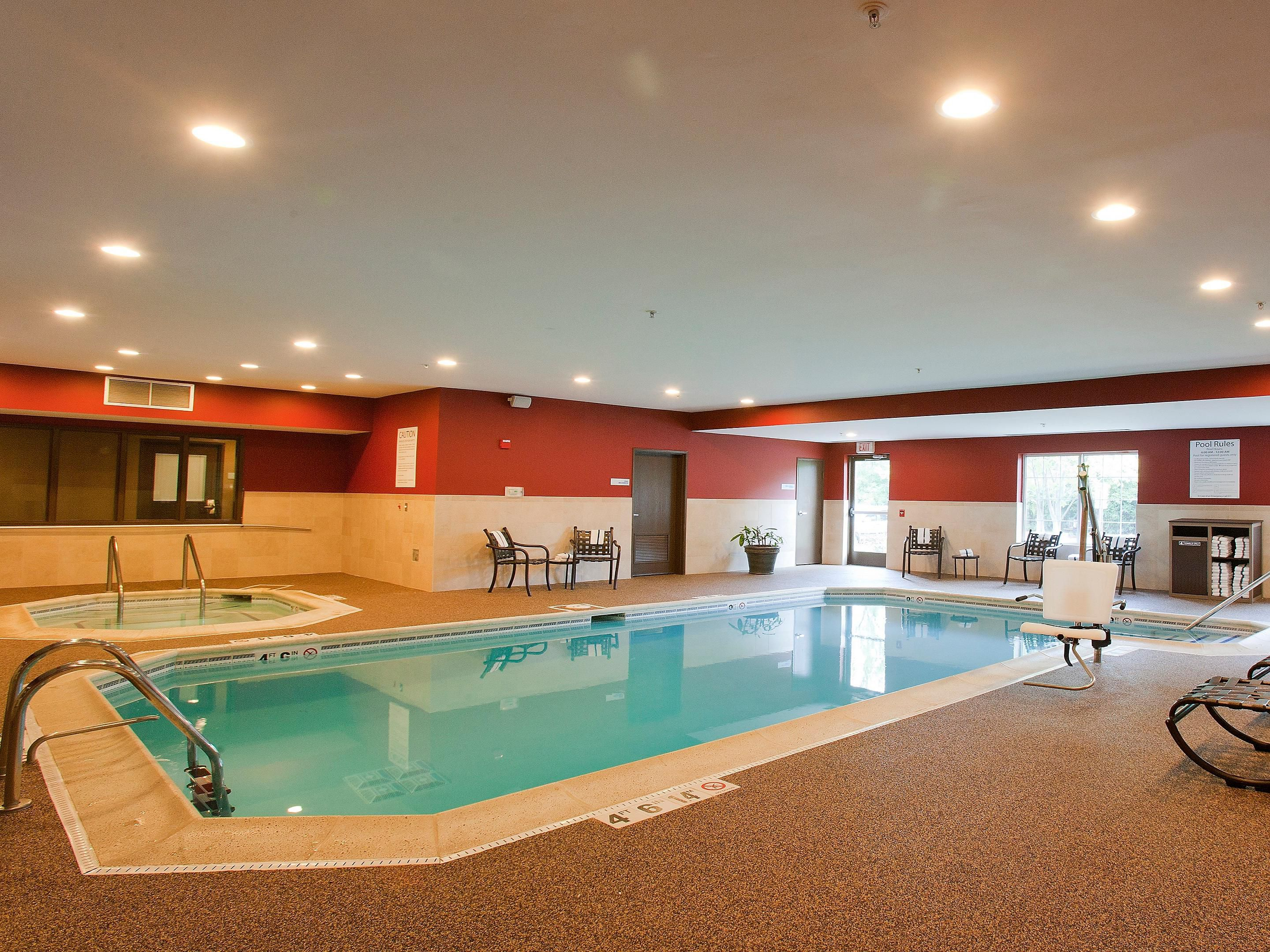 Newly Renovated area at the Swimming Pool, Holiday Inn Express