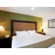 Suite Bedroom Area at Holiday Inn Express Deerfield-Lincolnshire