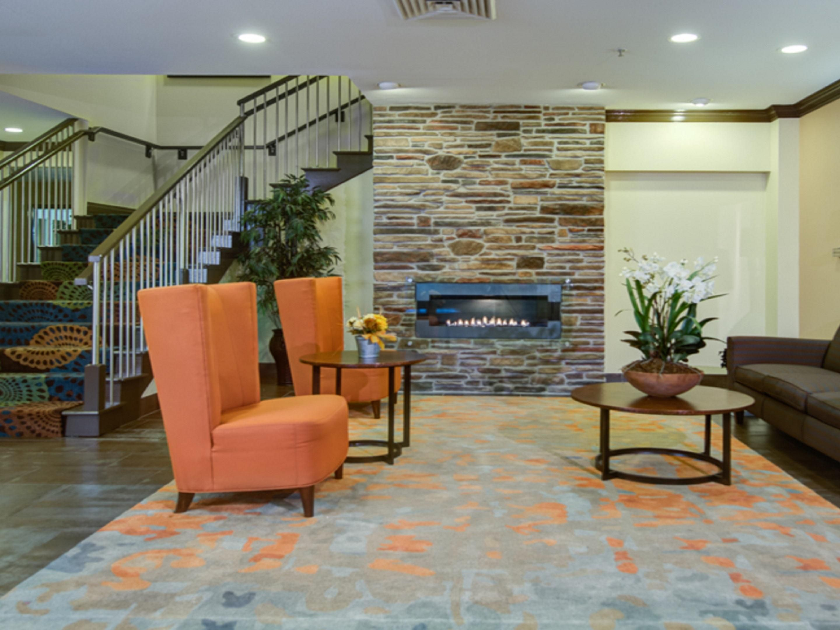 Newly Renovated Lobby near Baxter Healthcare