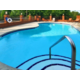Our seasonal swimming pool is an oasis in any NC summer!