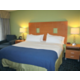 King Suite with separate bedroom and sitting area with sofa bed.