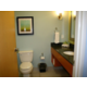 Large private bathrooms in every room