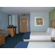 2 Queen Executive room with fridge and microwave.