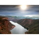 Sunset at the Flaming Gorge is spectacular