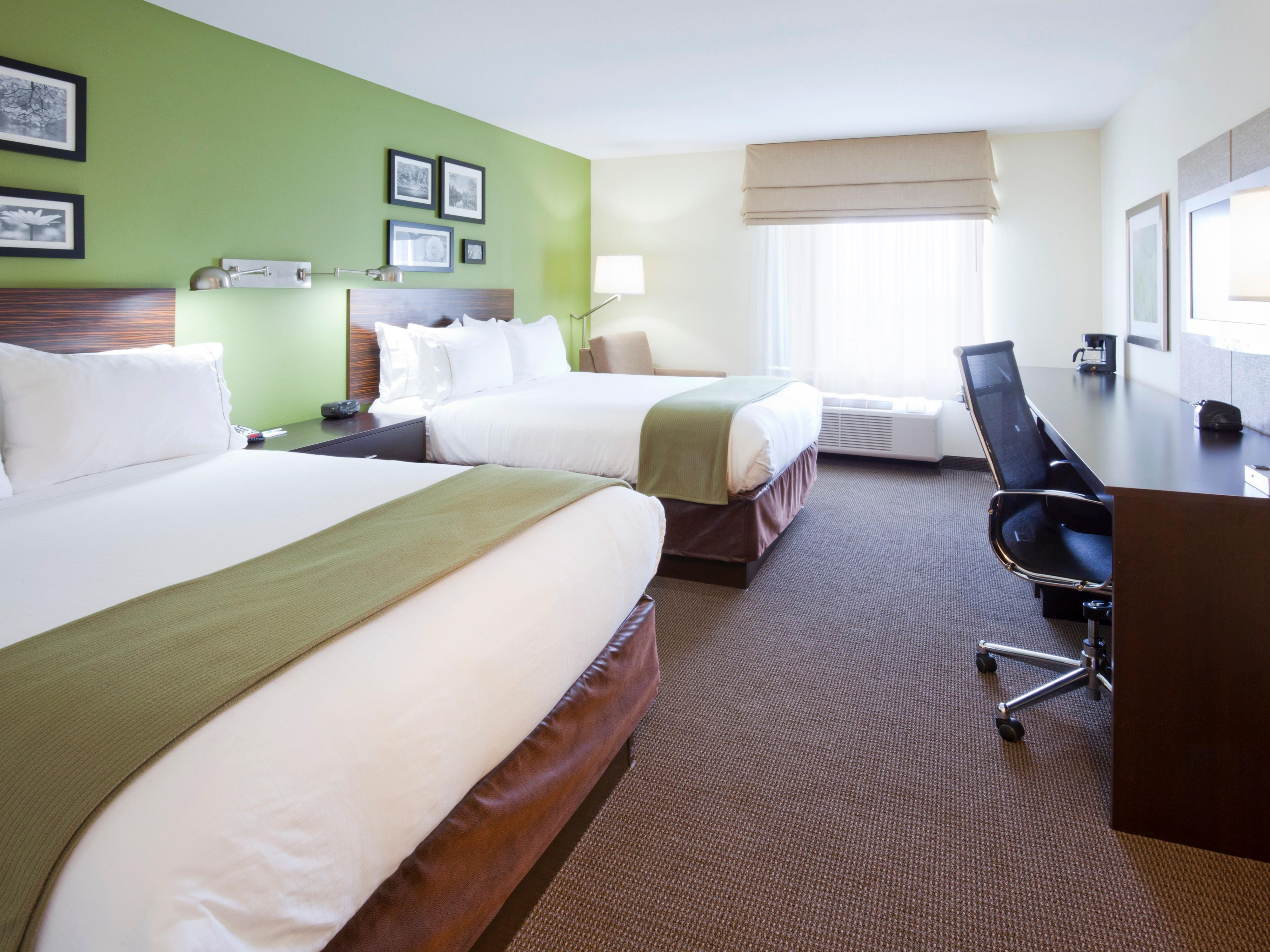 Our standard rooms all include microwave, fridge, and coffee maker