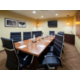 Board Room for up to 10 guests. Includes TV and Dry Erase Board