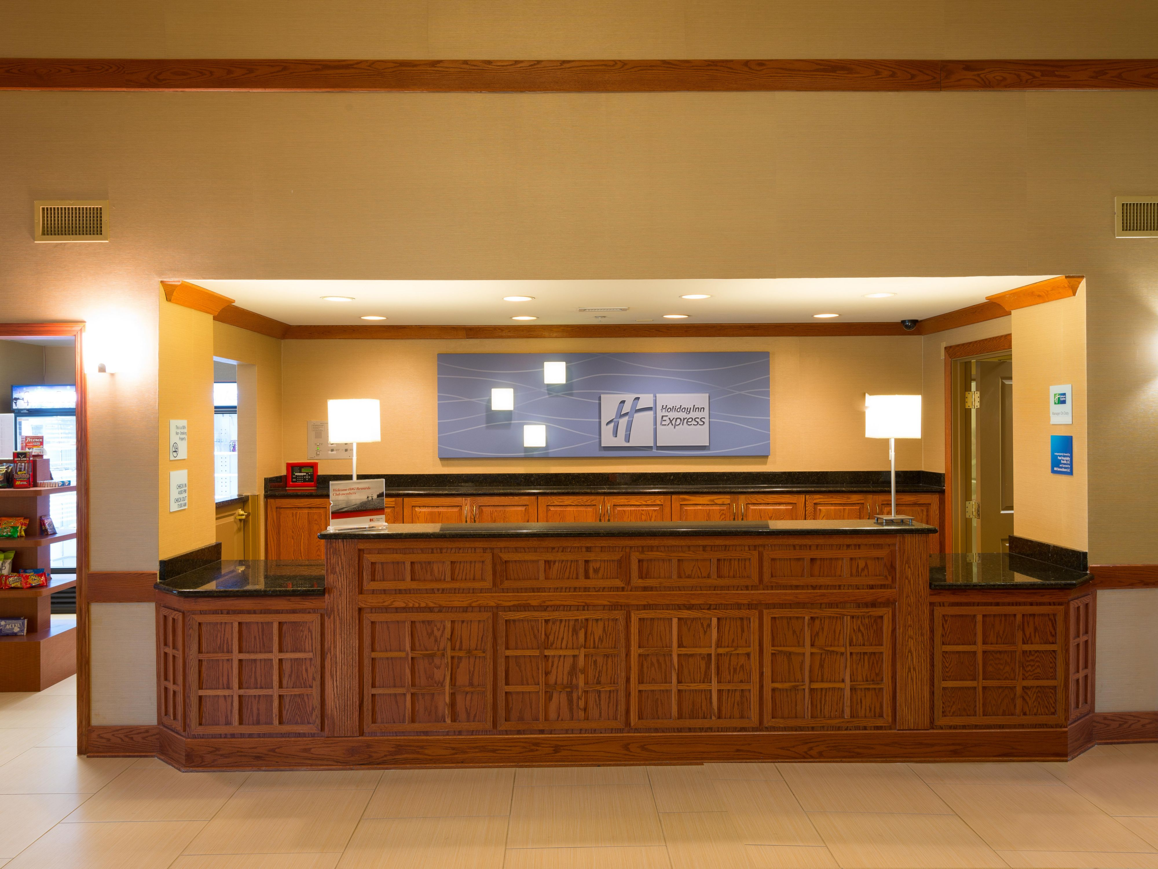 Newly remodeled Holiday Inn Express near Medinah Country Club