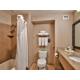 Very spacious bathrooms
