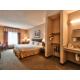 Queen bed Accessible