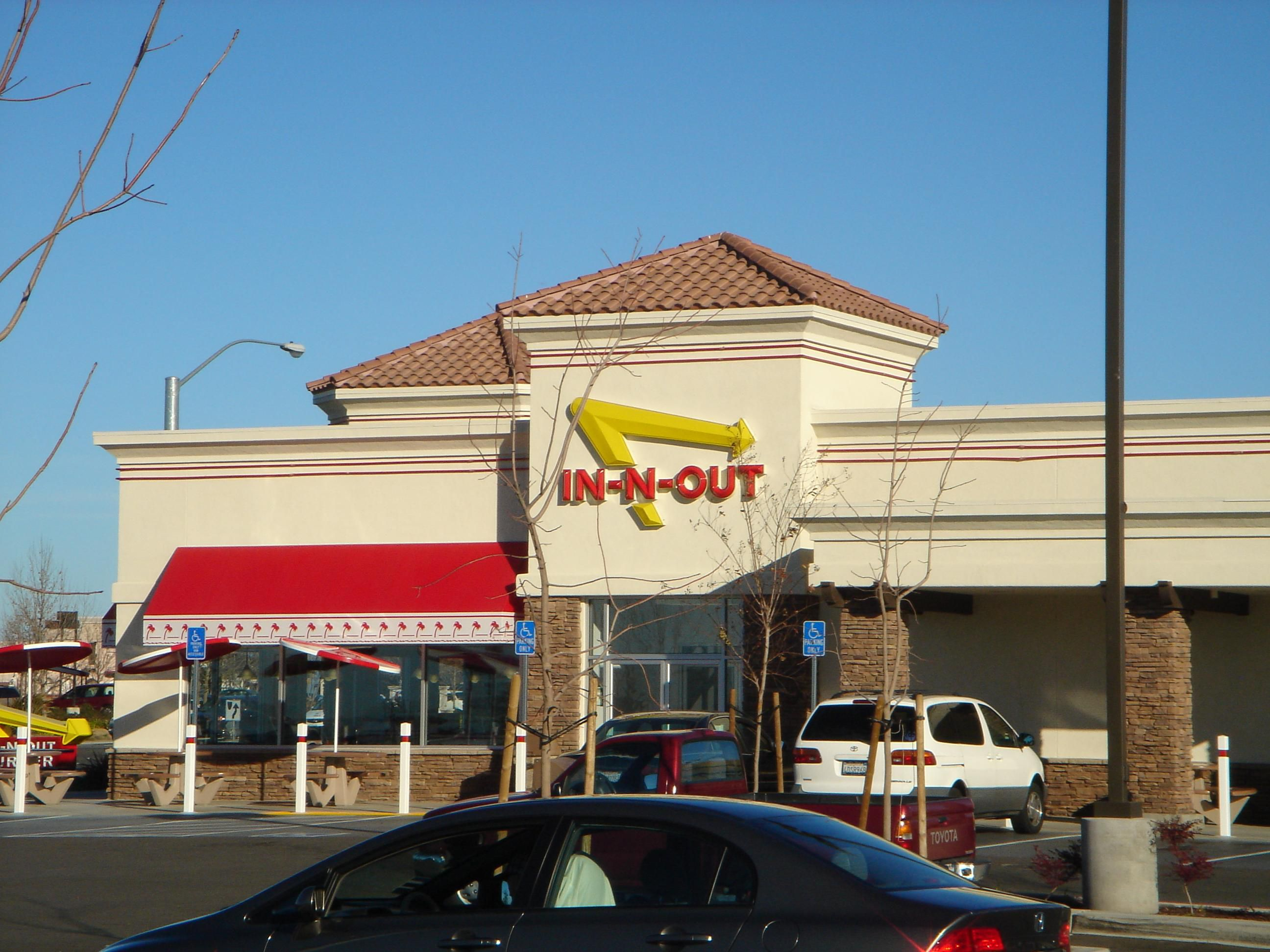In-N-Out Burger with Drive-Thru