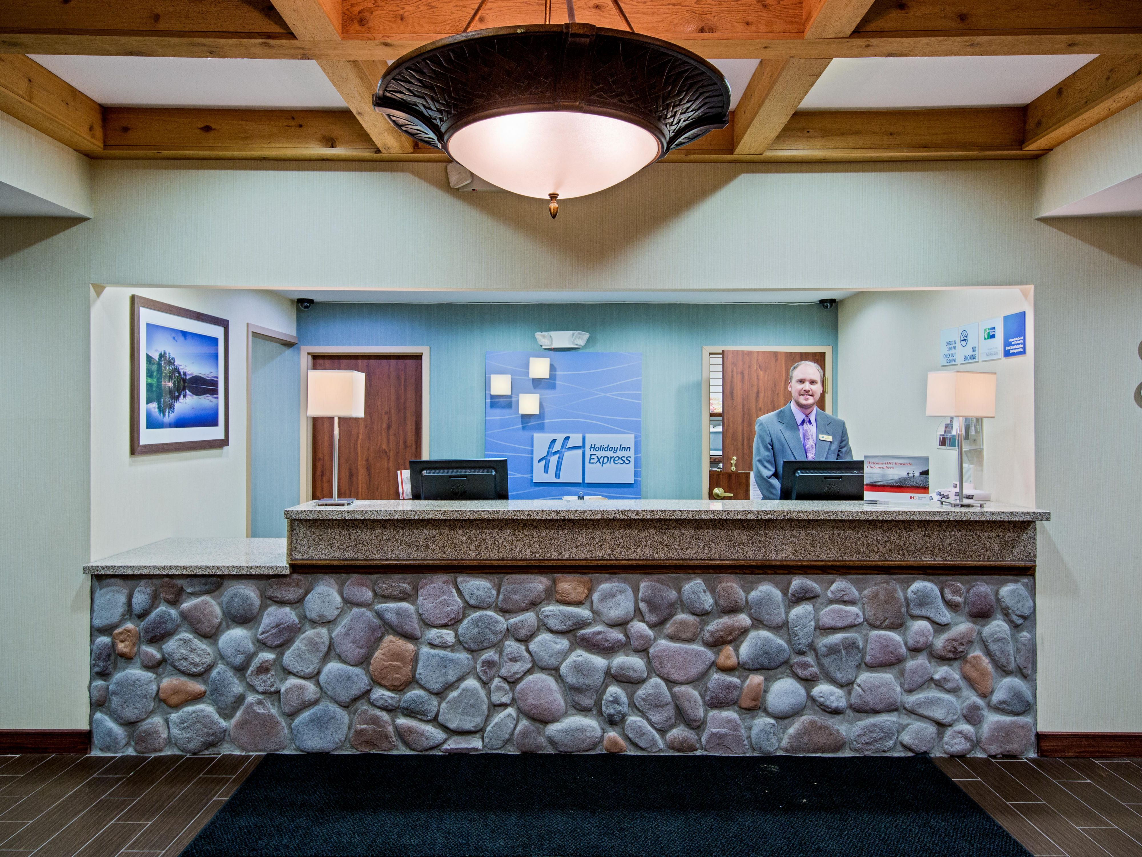 Our Front Desk staff is here to assist you!