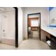 Guest Bathroom with large Vanity Space