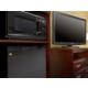 Guest Room Amenities Microwave & Mini Fridge