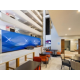 Spacious lobby Holiday Inn Express and Suites San Antonio