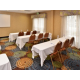 We offer over 500 square feet of meeting space.