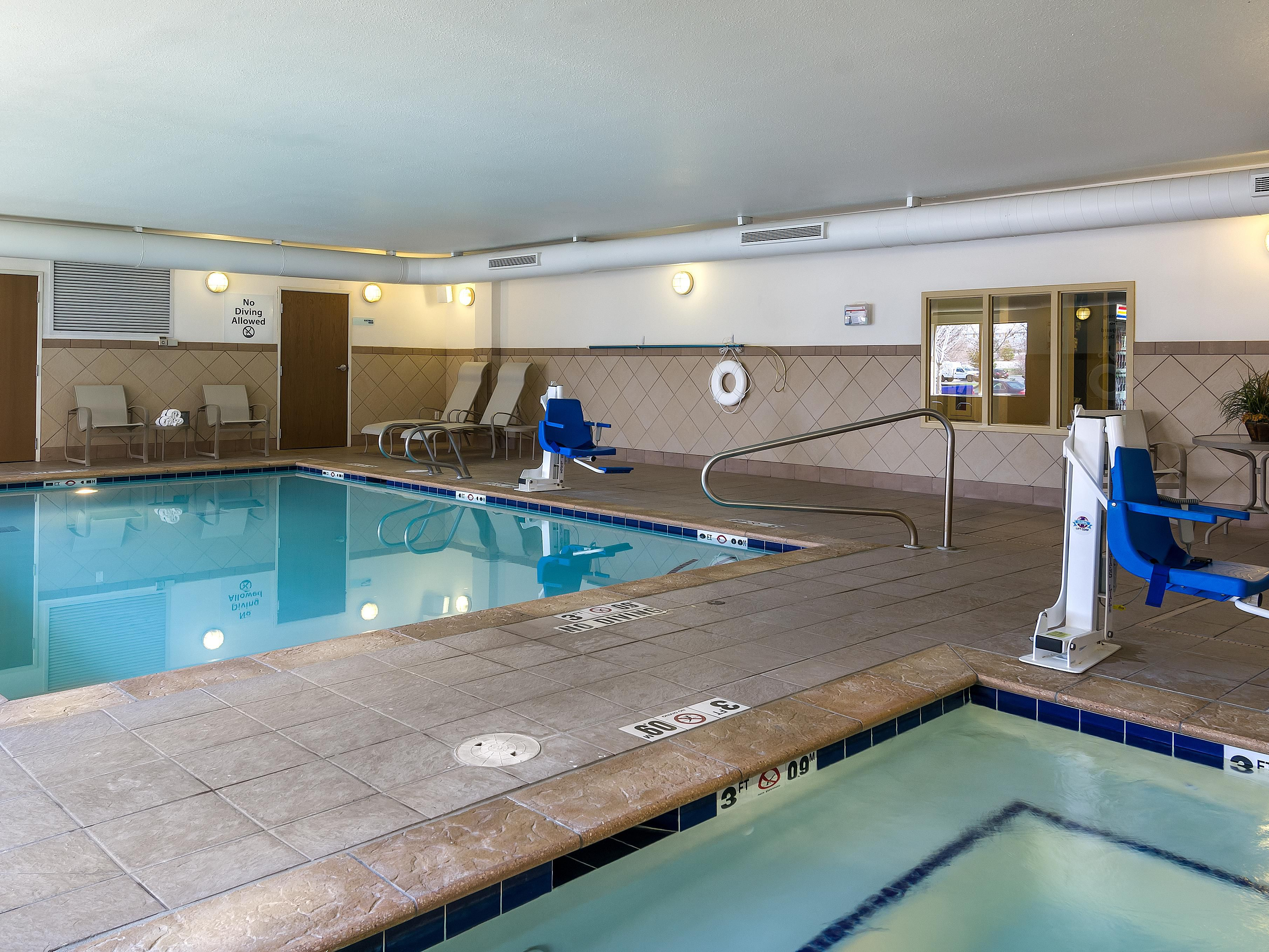Swimming pool and hot jacuzzi spa are available to use 24 hours!