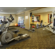 Fitness Center featuring Cardio and Weight Equipment