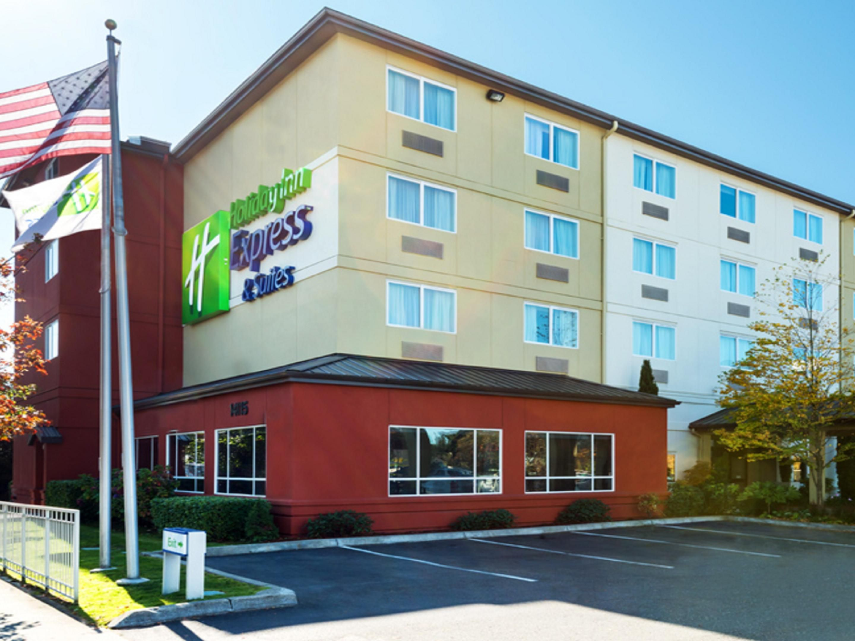 Welcome to the Holiday Inn Express North Seattle-Shoreline