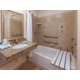 ADA/Handicapped Accessible Guest Bath with Transfer Tub