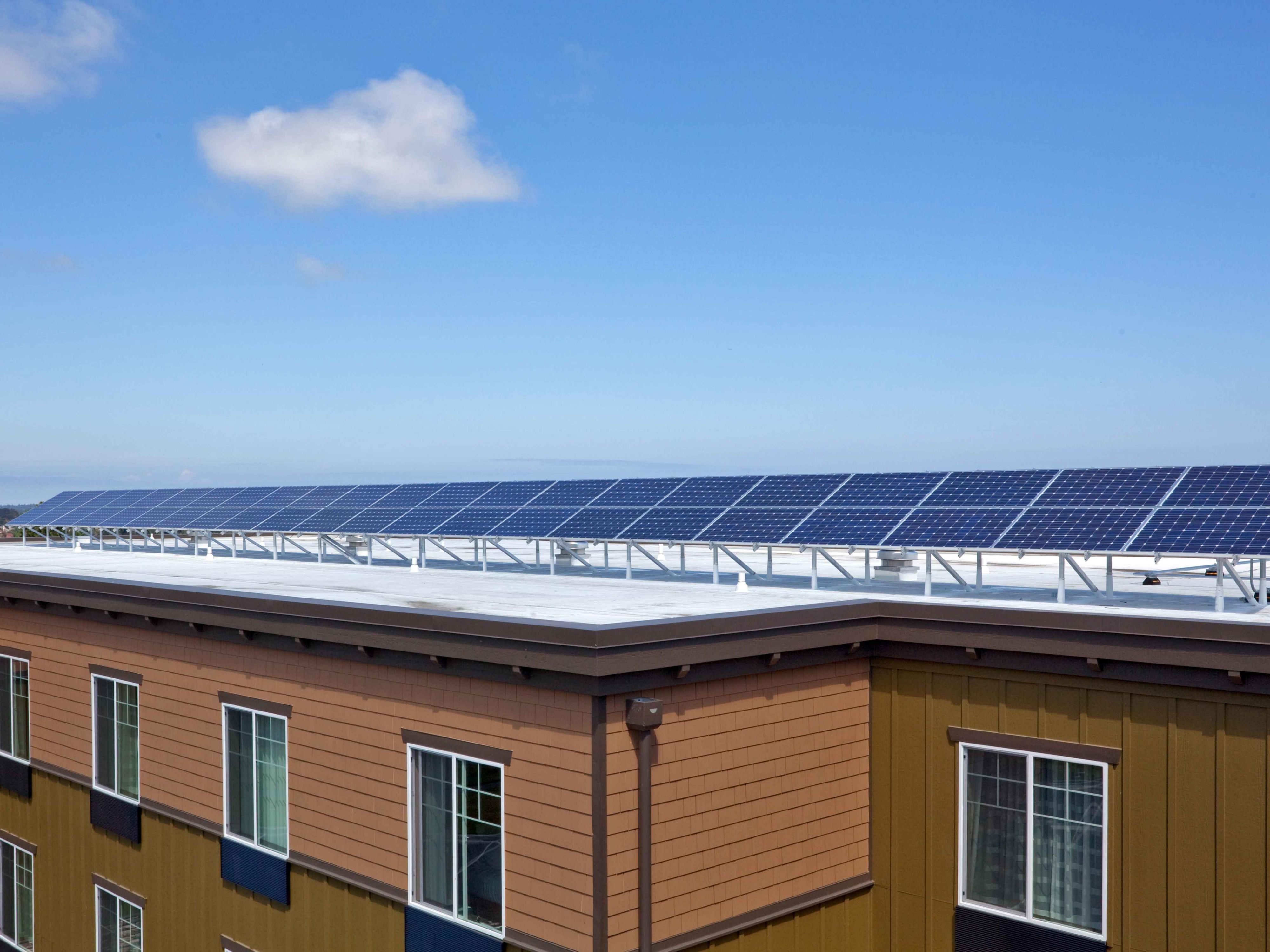 Solar panels offer a Sequim Conference center 'Powered by the Sun'