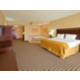 One room King suite with whirlpool tub in guest room
