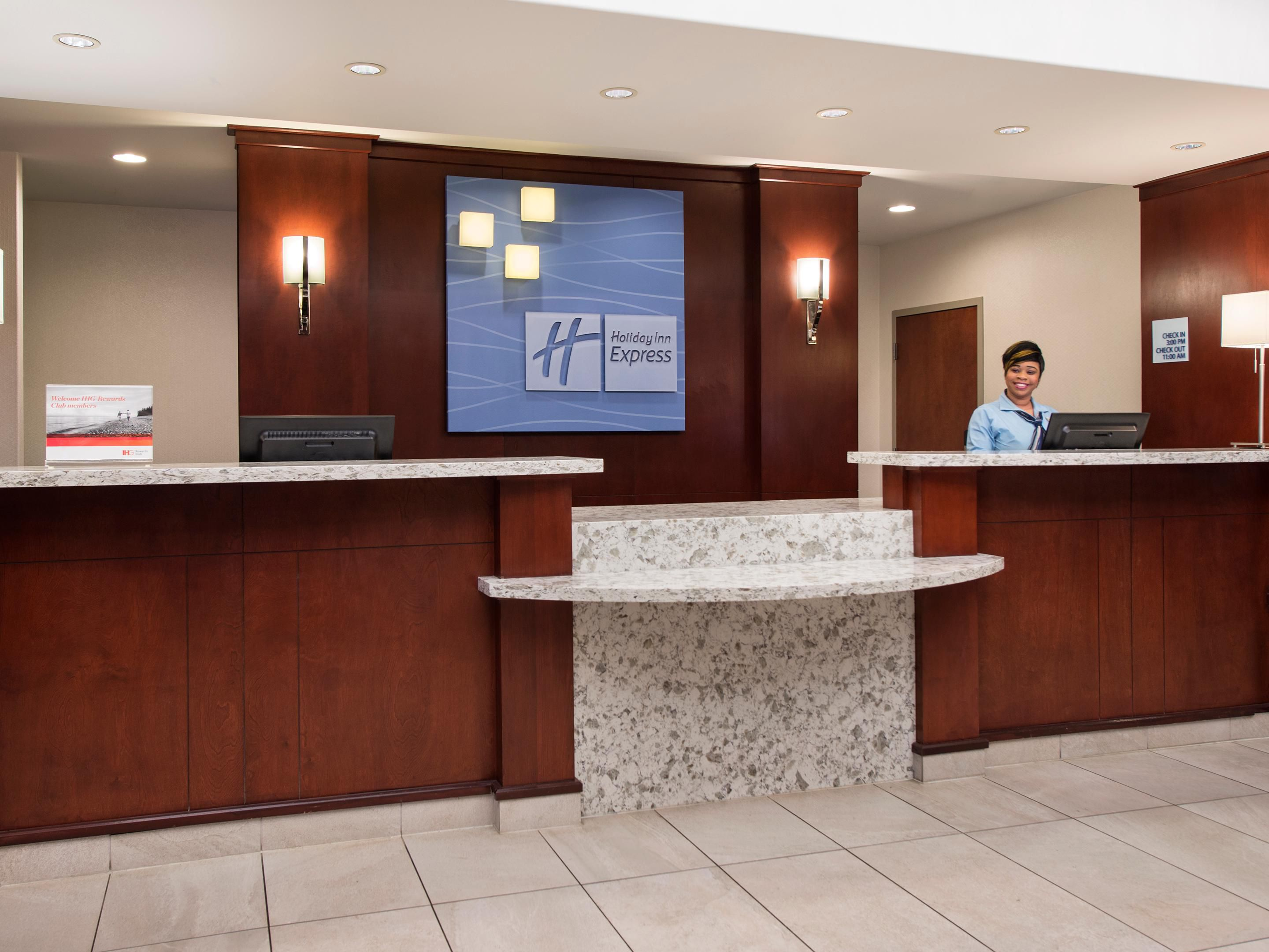 Let our team welcome you to the Holiday Inn Express Sherwood Park
