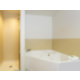 King Spa Guest Room bathroom with jetted tub