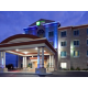 Hotel Exterior (after dark)