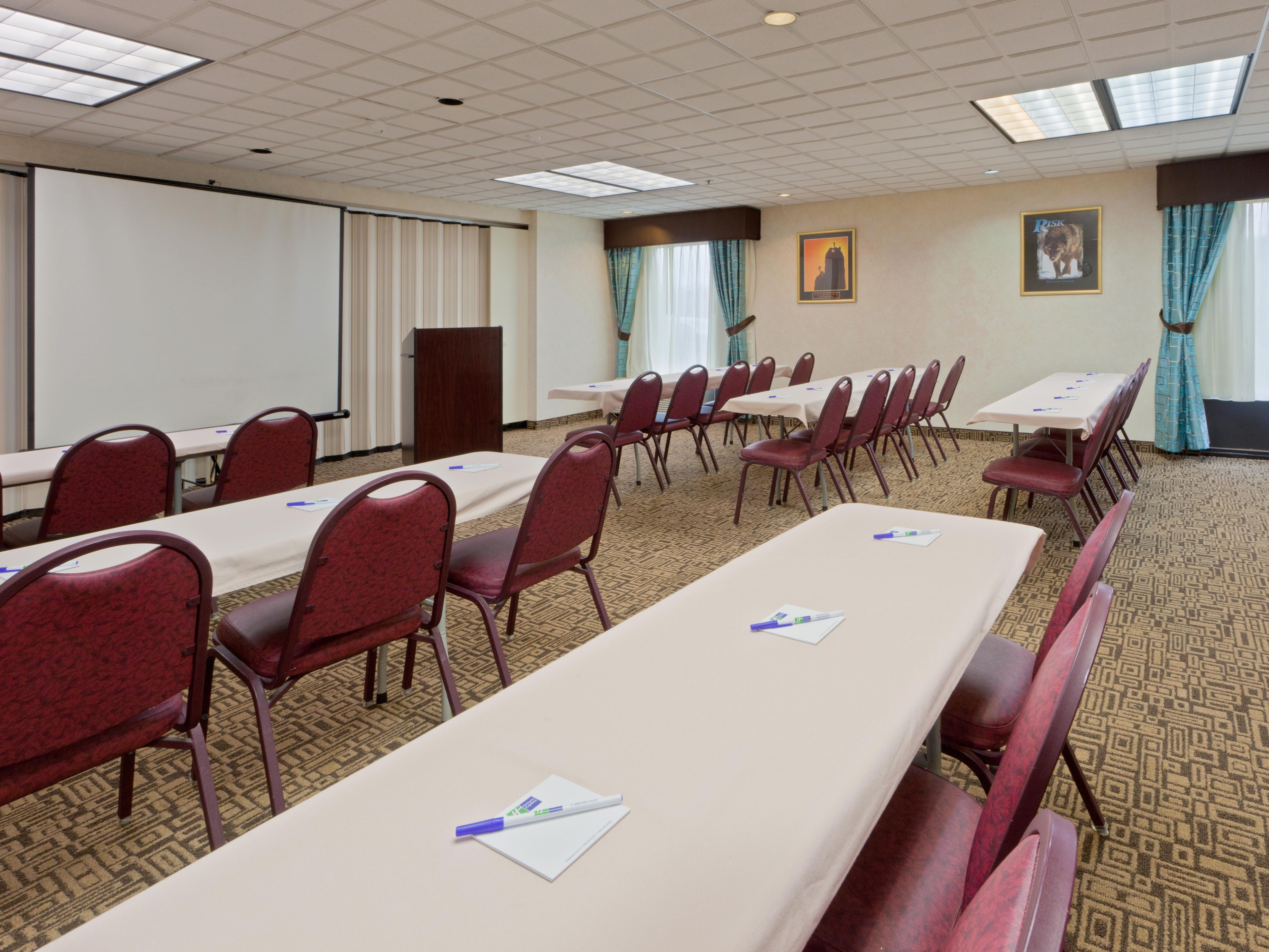 We can take care of all your conference space needs!