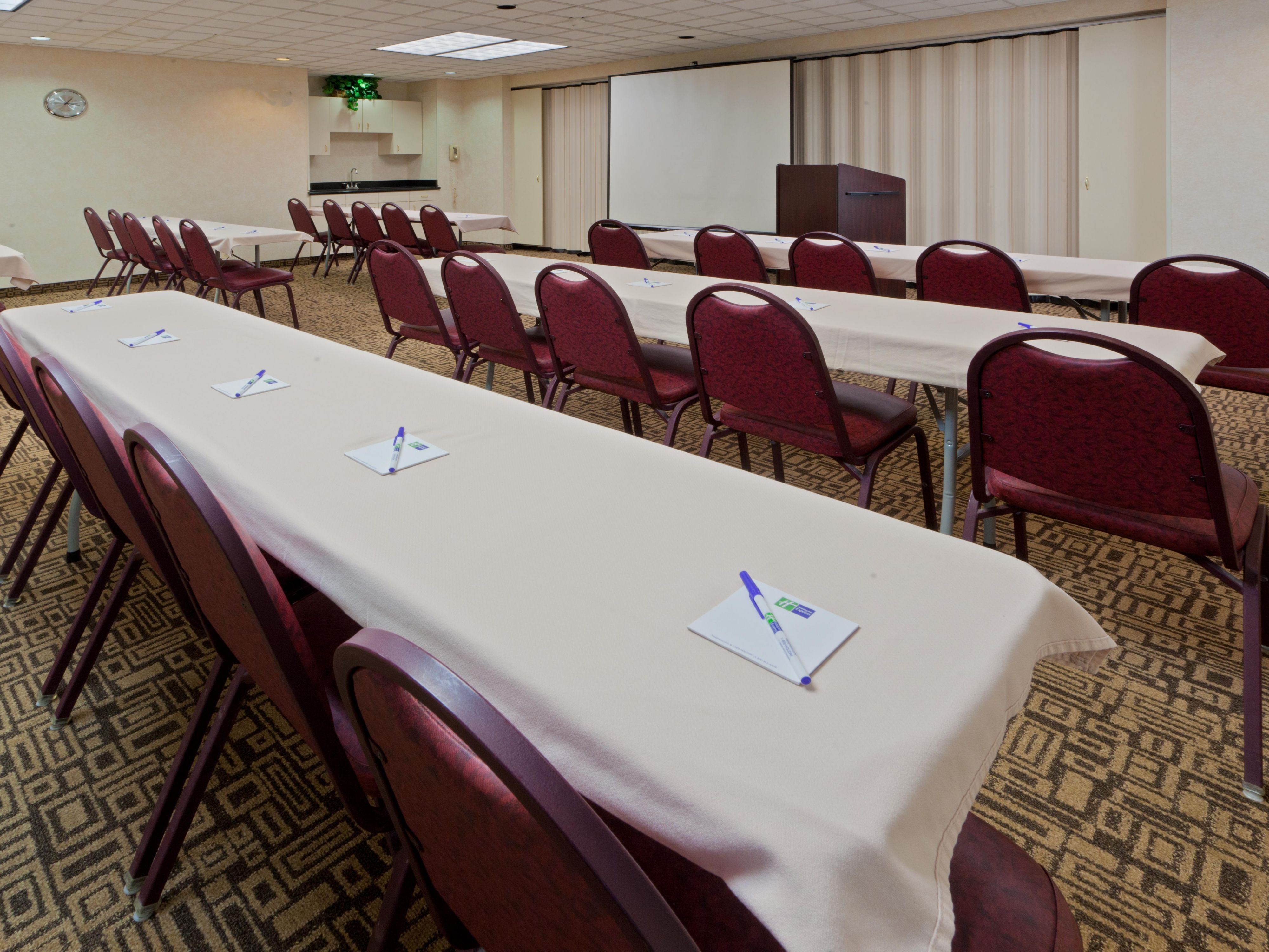 Large and Small Conference Rooms to meet any business needs!