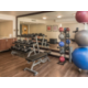 On-Site Fitness Center and free weights