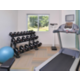 Stay in shape away from home with our new Precor fitness equipment