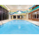 Exercising is easy in our indoor heated pool
