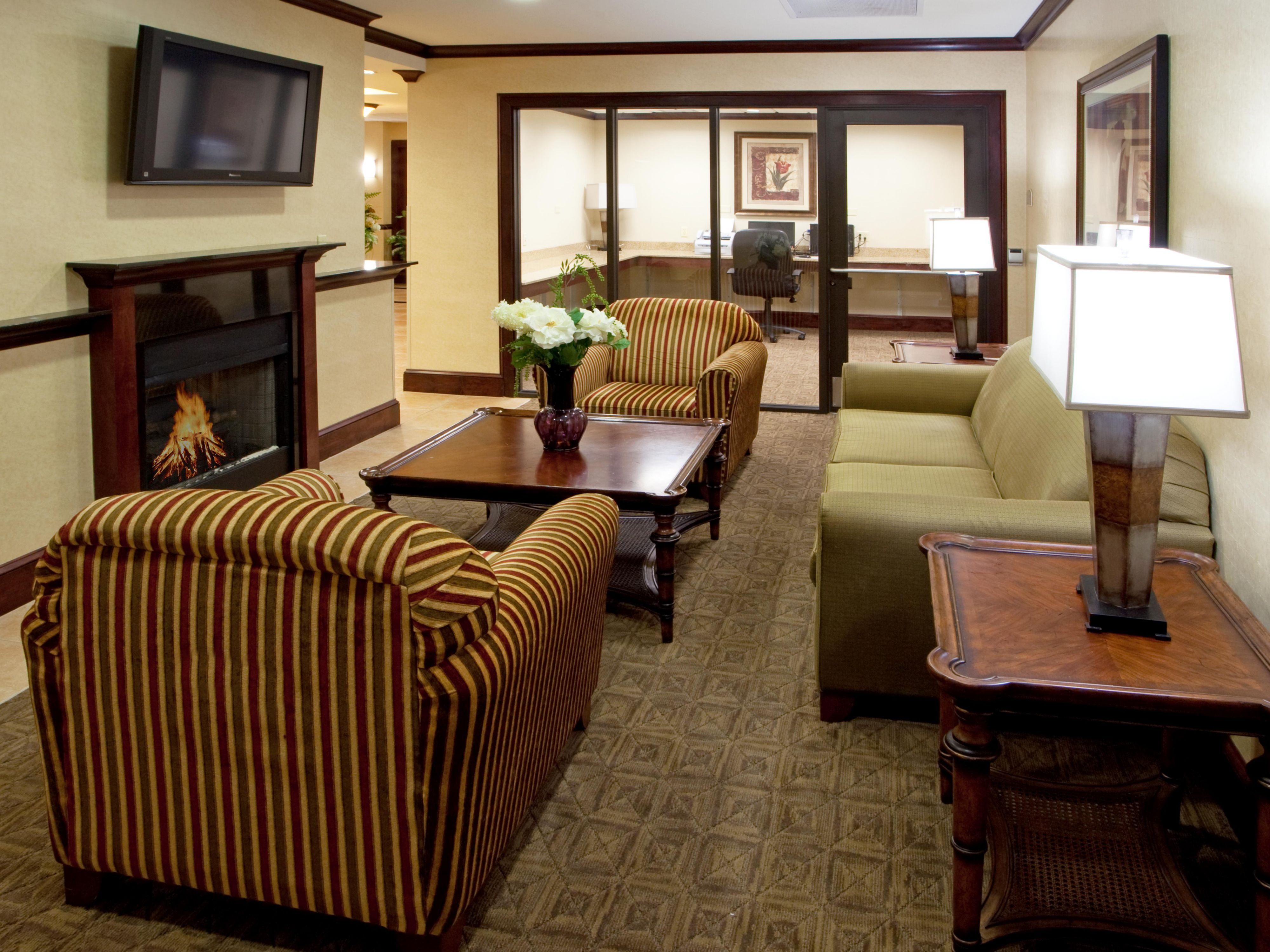 Relax in the comfort of our Hotel Lobby