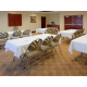 We can accomodate meetings of up to 35 guests