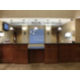 Brightly lit and welcoming front desk for our guests assistance
