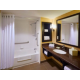 Spacious bathrooms in all accessible double queen rooms