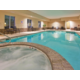 Indoor Swimming Pool and whirlpool at Holiday Inn Express Topeka